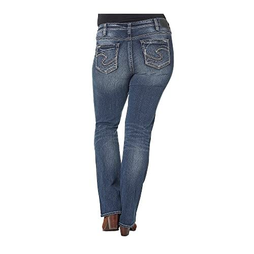 Silver Jeans Co. Plus Size Aiko Mid Rise Bootcut Jeans free ...