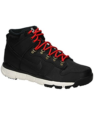 (Nike Sb Dunk High Boot Mens Hi Top Trainers 806335 Sneakers Shoes (UK 8 US 9 EU 42.5, Black Sail Ale Brown 012))