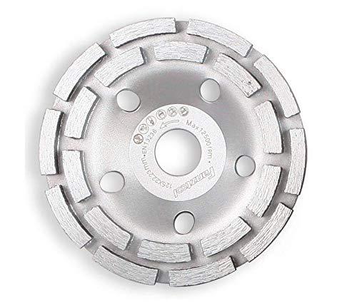 Topfscheibe Diamantschleiftopf 100 mm für Winkelschleifer Betonschleifer 2stk