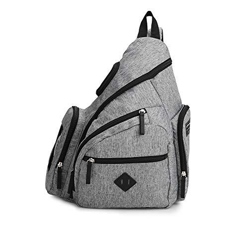 Eddie Bauer Versa-Trail Sling Diaper Bag, Grey