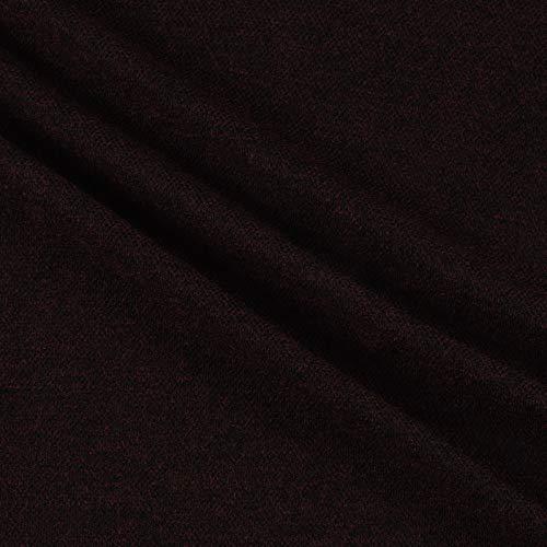(Telio Juniper Sweater Knit Red Black Fabric by the Yard)
