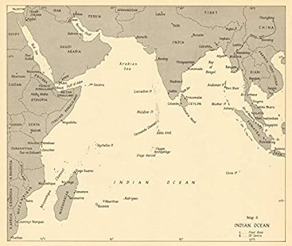 Amazon.com: Indian Ocean 1942. World War 2-1961 - Old map - Antique on atlantic ocean, korean peninsula map, arabian sea, comoros map, bay of bengal, world map, pacific ocean, persian gulf, silk road, india map, caspian sea, south china sea, middle east map, equator map, christmas island, ukraine map, south america map, china map, africa map, bay of bengal map, cape of good hope map, caribbean sea, mediterranean sea, iran map, pacific map, arctic ocean, australia map, black sea, south asia, java map, latin america map, persian gulf map, arabian sea map, southern ocean, world ocean, asia map, red sea,