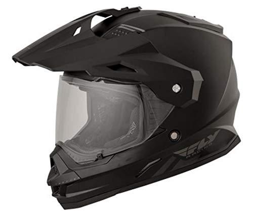 Fly Racing 73-7011X Trekker Helmet (Color Matte Black, Size X-Large)