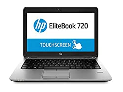 HP EliteBook J8V76UT#ABA 12.5-Inch Laptop (Black)