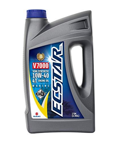 Suzuki ECSTAR V7000 10W-40 Marine 4-Stroke Engine Oil, 1 Gal (990C0-01E30-GLN) by Suzuki Marine