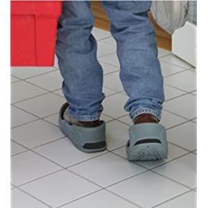 Tidy Trax A Hands-Free Shoe Covers - with shoe covers