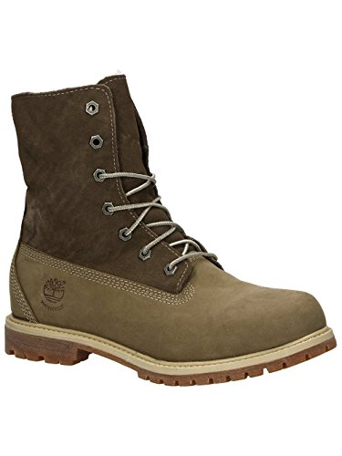 Timberland Teddy Fleece Wp Fold Down, Women's Boots Taupe Nubuck