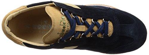 Blu Sneakers Ombroso Kidskin Diadora per Heritage Equipe Donna e Uomo 65068 6HwwFx