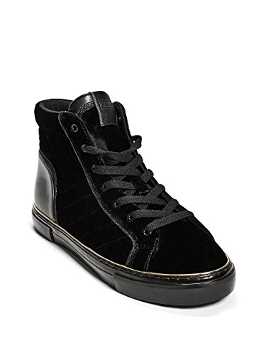 GUESS Women's Game On Quilted Velvet Sneakers
