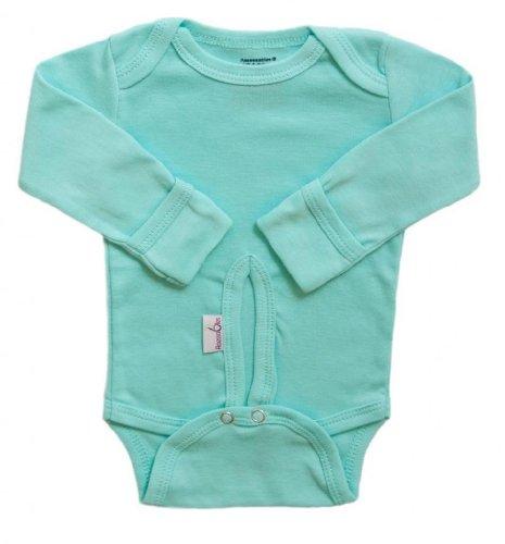 - Assessables Preemie and Newborn Onesie Bodysuit - Aqua