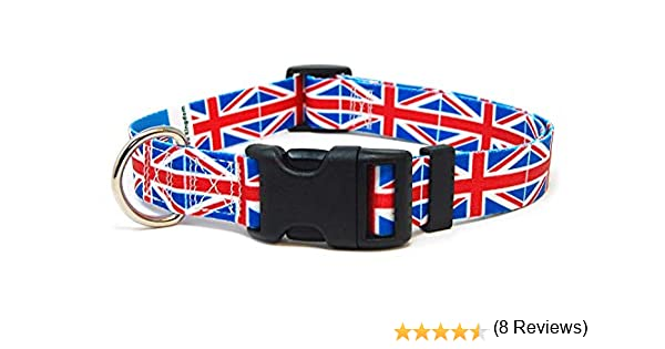 Festivals Special Events XSmall Small Medium Large XLarge Independence Days and Every Day Strong Safe Great for National Holidays PatriaPet Dog Collar with The Canada Flag