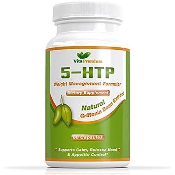 Amazon.com: 5-HTP cápsulas 100% garantía de devolución de ...