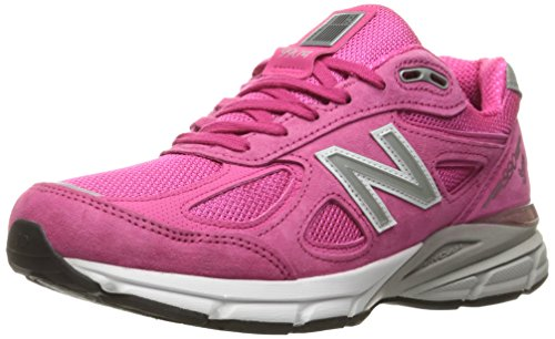 New Balance Men M990NV4 Running Shoe Komen Pink