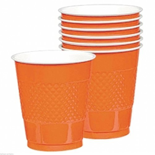 Orange Peel Plastic Cup 12oz 20ct