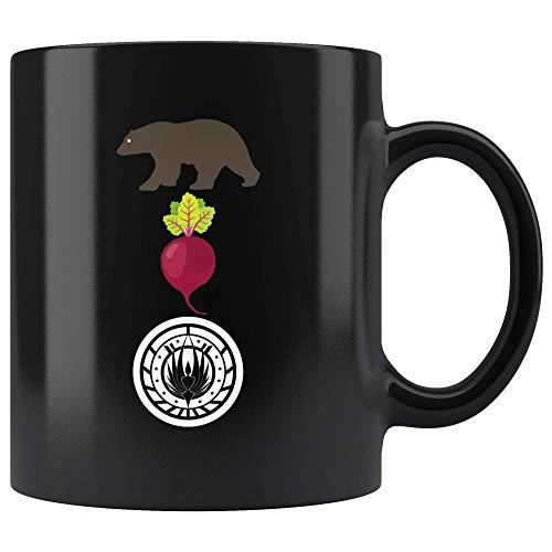 The Office Bears Beets Battlestar Galactica Coffee Mug ()