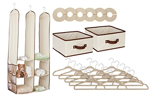 Delta Children Nursery Closet Organizer