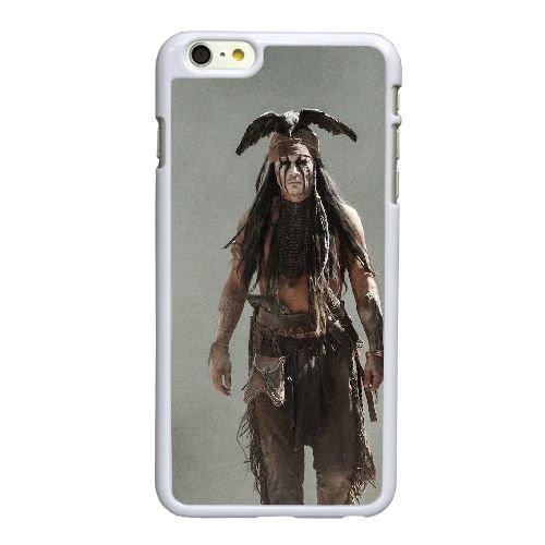 H1W06 Lone Ranger A1I4DQ coque iPhone 6 Plus de 5,5 pouces cas de couverture de téléphone portable coque blanche DE2XMU8EQ