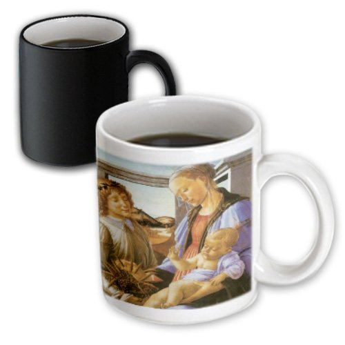 3dRose (mug_127040_3) Madonna of the Eucharist by Sandro Botticelli - Magic Transforming Mug, - Botticelli Madonna