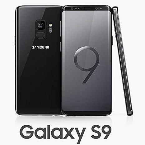 Samsung Galaxy S9 Dual SIM 64GB SM-G960F/DS Midnight Black: Amazon ...