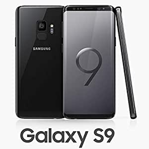 Samsung Galaxy S9 Dual SIM 64GB SM-G960F/DS Midnight Black: Amazon ...