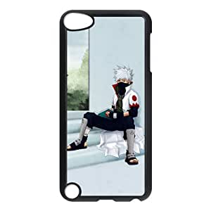 Naruto Hatake Kakashi Sit on the Ground Unique Durable Hard Plastic Case Cover for Apple iPod Touch 5 Custom Design Fashion DIY