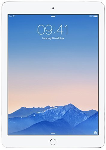 Apple iPad Air 2 MGLW2LL/A (16GB, Wi-Fi, Silver) NEWEST VERSION (Certified Refurbished) by Apple