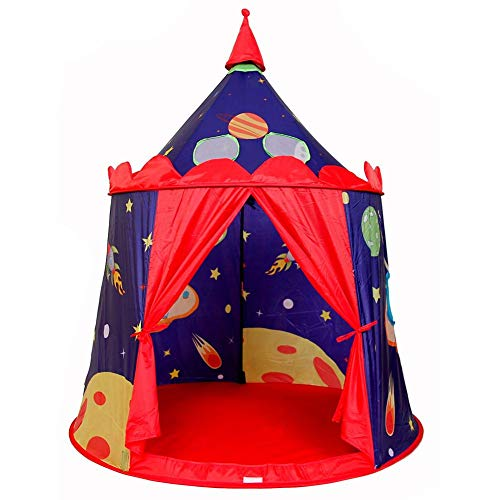 Bulary Outdoor Indoor Dual Use Universe Castle Tents Childre