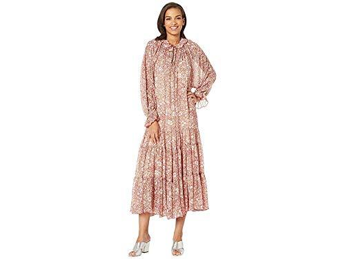 Free People Women's Feeling Groovy Maxi Dress, Red, Large (Wedding Amethyst Dress)