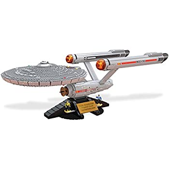 Mega Bloks Star Trek U.S.S. Enterprise NCC-1701 Collector Construction Set