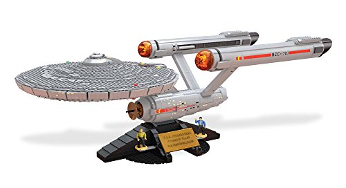 (Mega Bloks Star Trek U.S.S. Enterprise NCC-1701 Collector Construction Set)
