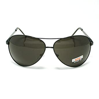 de4405dd89 Image Unavailable. Image not available for. Color  All Black Classic  Aviator Sunglasses