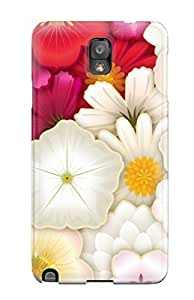 Galaxy Note 3 Cover Case - Eco-friendly Packaging(flower)