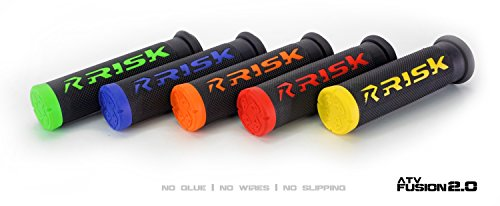 Fusion 2.0 Grip Tech Bonding System - ATV/MTB Red by Risk Racing (Image #3)