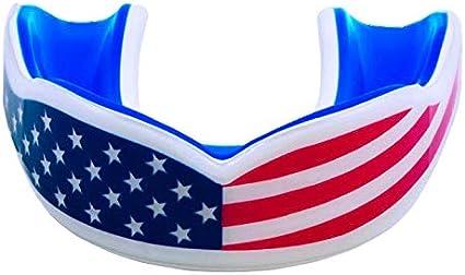 Colorful Sport Mouthguard Mouth Guard Teeth Cap Protect Martial Arts O0L7