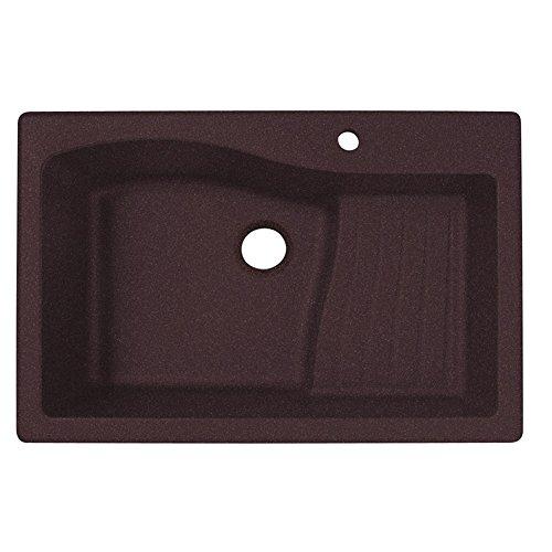 swanstone-qzad-3322170-33-inch-by-22-inch-drop-in-ascend-bowl-kitchen-sink-espresso