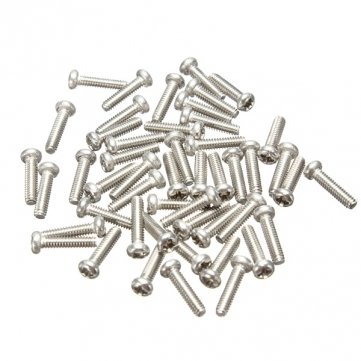 Bheem 50pcs m2  x 8  mm Philips Testa Vite Vite in acciaio inox 304 MHDS SKUBM5047931