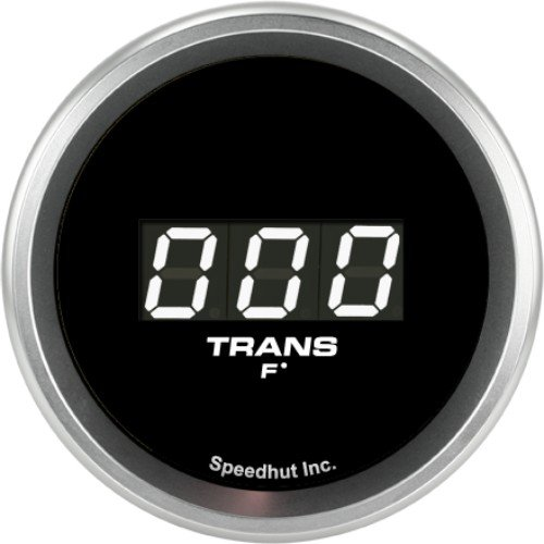 Speedhut GRD20-TT10 Trans Temp Digital Gauge 60-300F (with Easy Touch Bezel), 2-1/16'' by SpeedHut