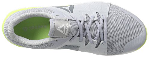 Sneakers Grey asteroid electric Gris white Basses Femme Flash Reebok Dust cloud Trainflex 0qxw77