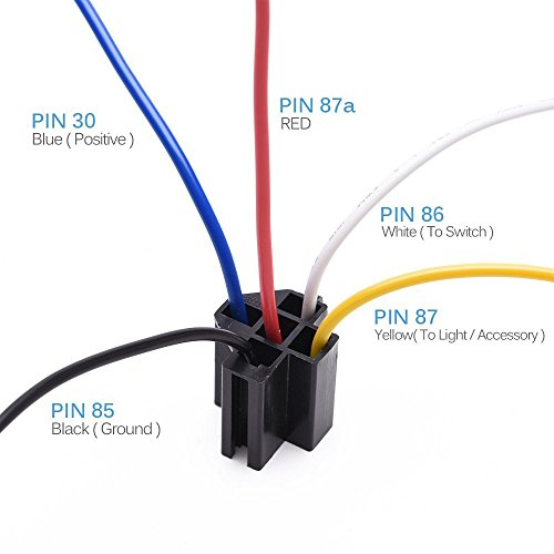 Mictuning Relay Harness  40a Spdt Relay 12v 5