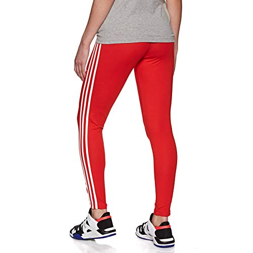 adidas Originals 3 Stripes Tight Leggings UK 12 Reg Active Red by adidas Originals (Image #2)