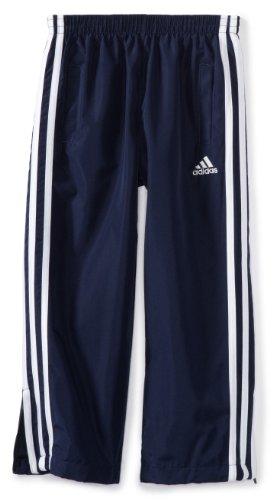 adidas Little Boys' Revolution Basic Pant,Navy/White ,4t