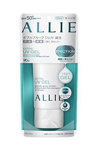 Kanebo ALLIE Extra UV Gel Sunscreen - SPF50+ PA++++ 90g / 3.1oz | NEW 2018 from ALLie