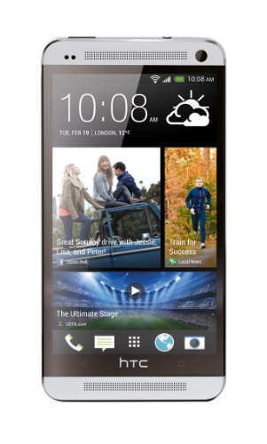 HTC One 32GB Unlocked GSM 4G LTE Android Smartphone w/ Beats Audio - Silver