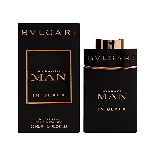 Bvlgari Man in Black Eau de Parfum Spray for Men, 3.4 - Bvlgari Mens