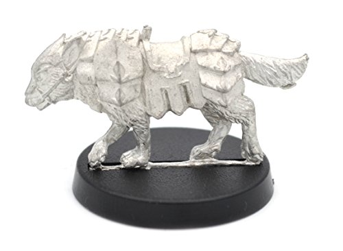 (Stonehaven Wolf Miniature Figure (for 28mm Scale Table Top War Games) - Made in USA)