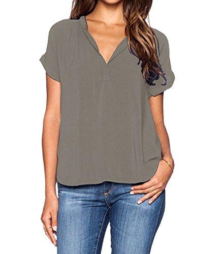 ASCHOEN - Camisas - para mujer gris