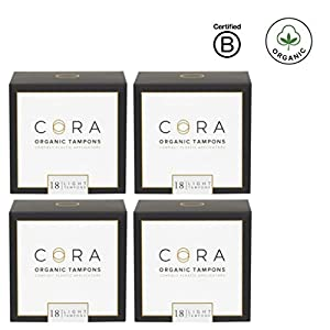 Cora Light Organic Tampons with Applicator