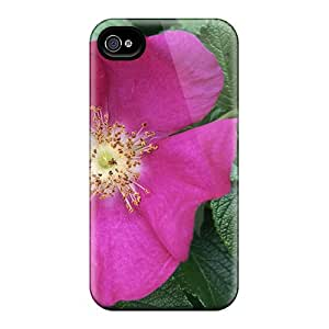 Iphone 4/4s GqF8935irsX 1 Single Pink One Tpu Silicone Gel Case Cover. Fits Iphone 4/4s