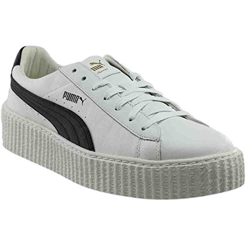PUMA Select Men's x Fenty by Rihanna Cracked Creepers, White/Black/White, 12 D(M) (White Creeper)
