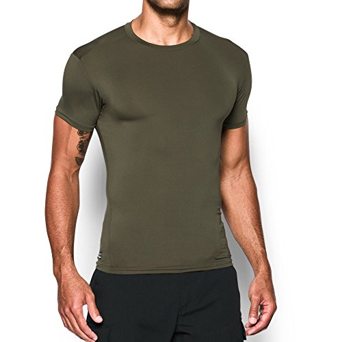 Marine Green (Under Armour Men's Tactical HeatGear Compression, Marine Od Green/Clear, X-Large)
